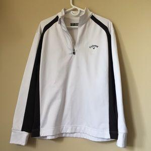 Men's Callaway size large Golf 1/4 zip pullover